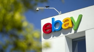 EBay's second quarter revenue rose 3.7% to $2.22 billion
