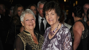 Philomena Lee with Judi Dench who starred as her in the Oscar-nominated movie