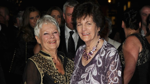 Philomena Lee, pictured here with Judi Dench, appears on tonight's Late Late Show