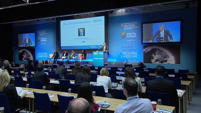 Dublin Castle was the venue for today's event
