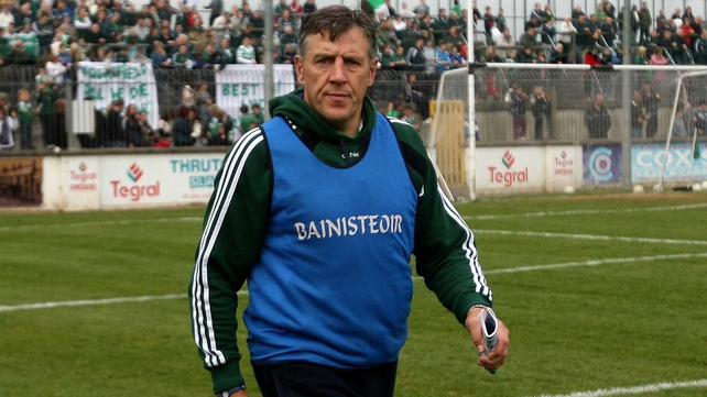 Jack Sheedy during his time as Moorefield boss