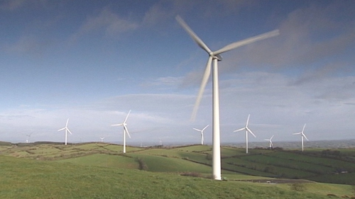 Several large scale wind farms are proposed to be built in the midlands
