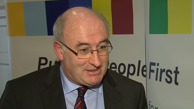 Councillors are angry with Phil Hogan over the town council's abolition