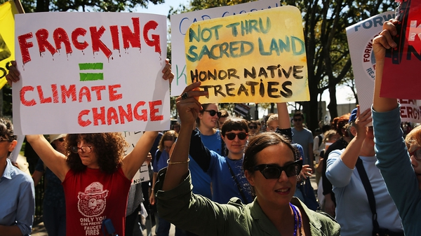Fracking or exploring for shale gas has led to widespread protests across north America