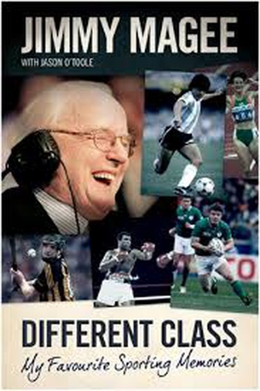 Jimmy Magee autobiography released later this year