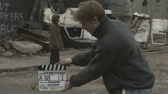 'In the Name of the Father' film shoot, Sheriff St, Dublin, 1993