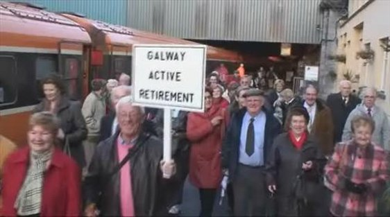 Senior Citizens Protest