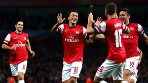 """Mesut Ozil: '""""I am very proud of the team. We qualified for the Champions League and we are in the FA Cup final.'"""