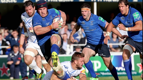 Sean O'Brien will make his second PRO12 start of the season for Leinster this Saturday