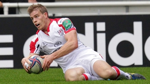 Andrew Trimble is facing several months on the sideline with a toe injury