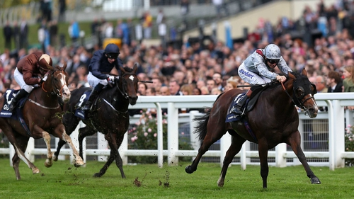 Olympic Glory's previous Group One victory came in last season's Prix Jean-Luc Lagardere at Longchamp as a juvenile