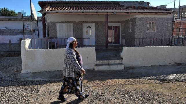 Home where child was found in Farsala, Greece
