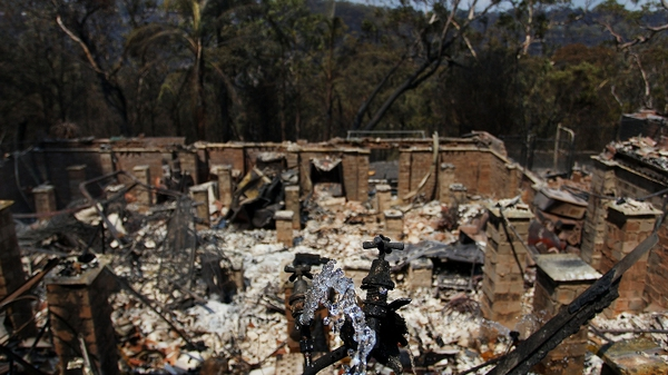 Hundreds of homes have been destroyed by the fires