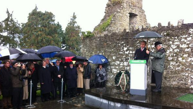 Micheál Martin was speaking at the annual Bodenstown ceremony to commemorate Wolfe Tone in Co Kildare