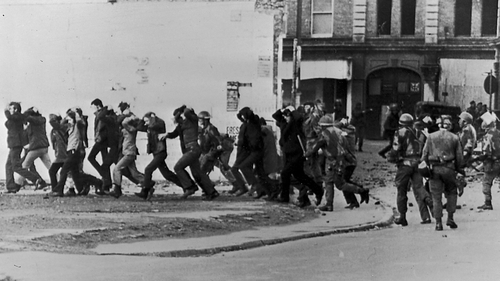 Papers are to be served on the accused soldier for the murder of two people on Bloody Sunday