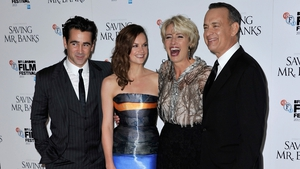 Saving Mr. Banks closed the BFI closing night gala last night