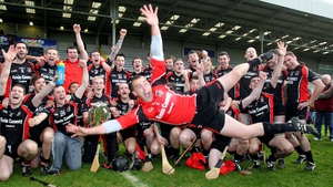 Oulart-The Ballagh's goalkeeper Ben O'Connor in flying form after the side won another Wexford hurling title