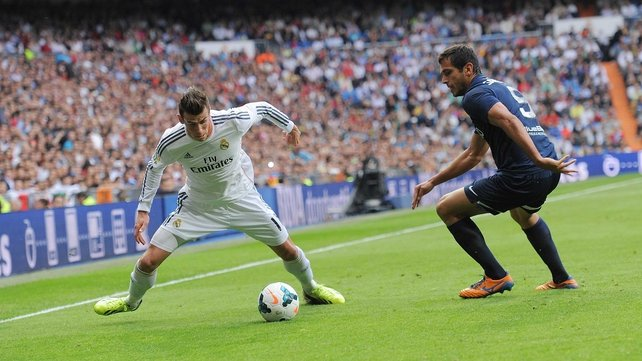 Gareth Bale is in line for a starting place against Barcelona