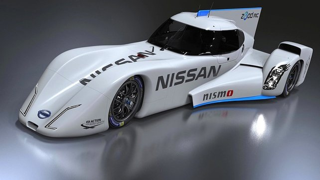 Nissan's EV race car