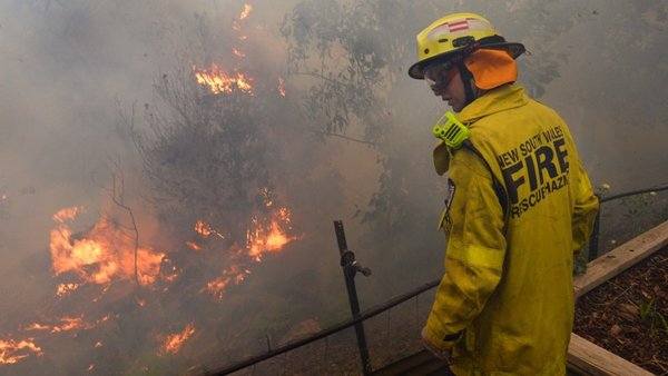 Firefighters are working desperately to contain a series of wildfires