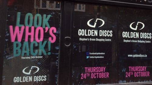 Golden Discs re-opened an outlet in Dublin's St Stephen's Green during its last financial year