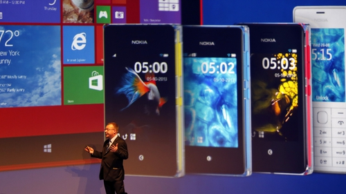 Microsoft announced its planned acquisition of Nokia's handset business in September 2013