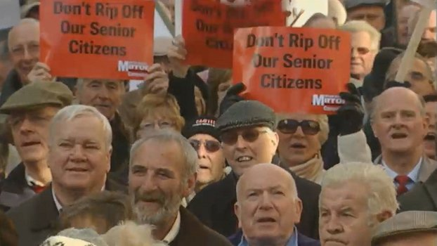 Senior Citizens Protest (2008)