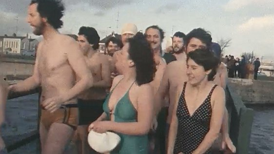 Christmas Day Swim 1980