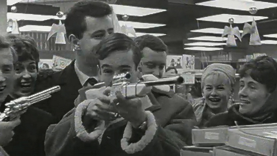 Showbands Shopping for Christmas (1963)