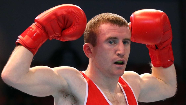 Paddy Barnes wants to further his career by going pro.