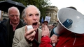 Older people protest against Budget 2014