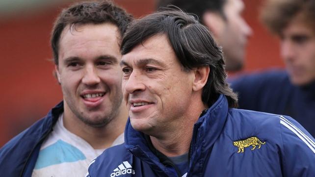 Daniel Hourcade managed Argentina seconds