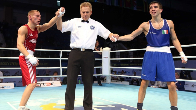 Michael Conlan lost out to bantamweight star Vladimir Nikitin