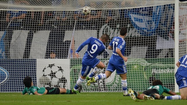 Torres scored two of Chelsea's goals last night