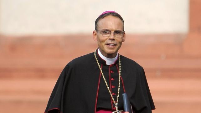 Bishop Tebartz-van Elst met the pope to discuss the scandal