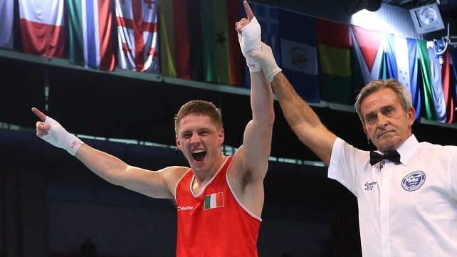 Jason Quigley will not compete in this year's National Championships