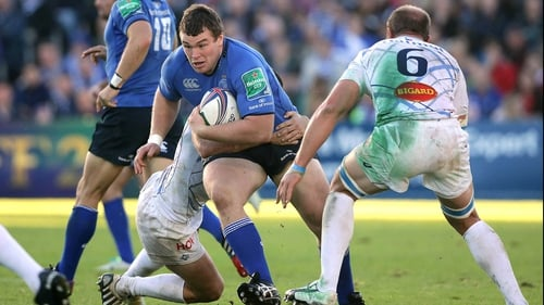 Jack McGrath returns to action for Leinster this afternoon