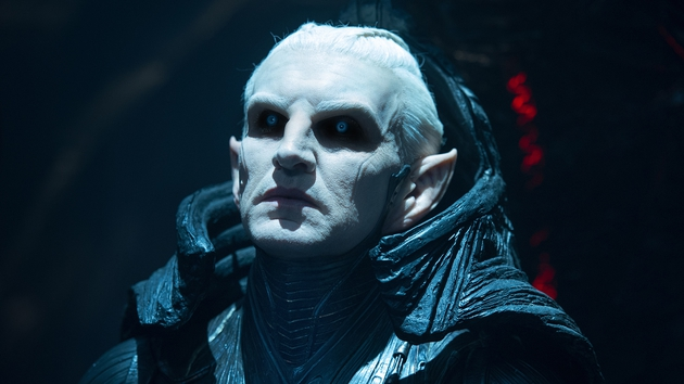 Eccleston is a far better actor than what he is given to work with here