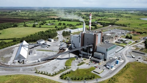 The power station in Shannonbridge, Co Offaly