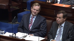 Taoiseach Enda Kenny paid tribute to Mr Shatter