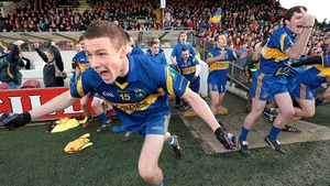 Barry Dardis leads the celebrations after Summerhill's victory in the Meath SFC final