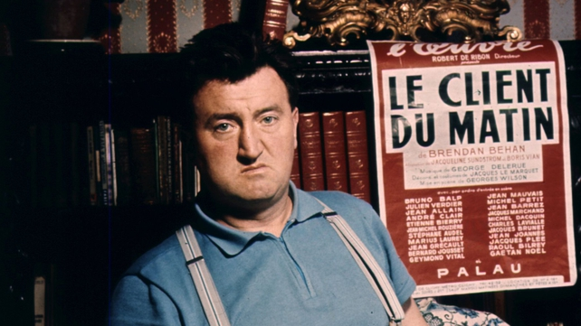 Actors, writers, friends, and relatives of Brendan Behan have gathered in Dublin