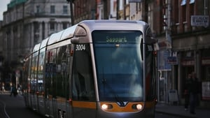 The estimated cost of linking the Red and Green Luas lines is €368m