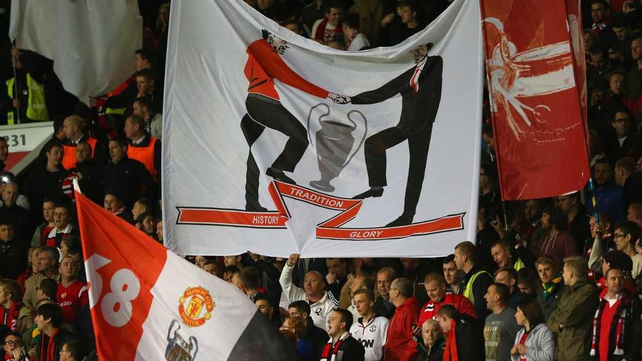 The atmosphere at Old Trafford was said to be improved with the introduction of a dedicated singing section