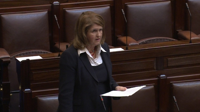 Joan Burton said officers have discretionary powers to award supplements