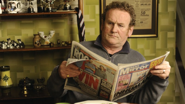 Colm Meaney stars as Paul Potts' father in One Chance