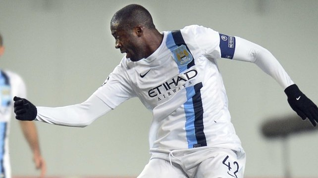 Yaya Toure: 'If we aren't confi