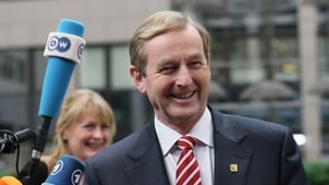 Enda Kenny said there were a range of views from other EU leaders on Ireland's options