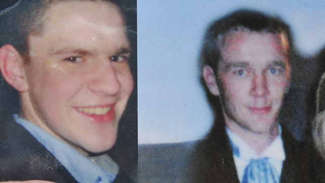 Terry Brennan (l) and Paul Farrell died in an elevator pit at Drummonds Ltd plant at Knockbridge, Co Louth