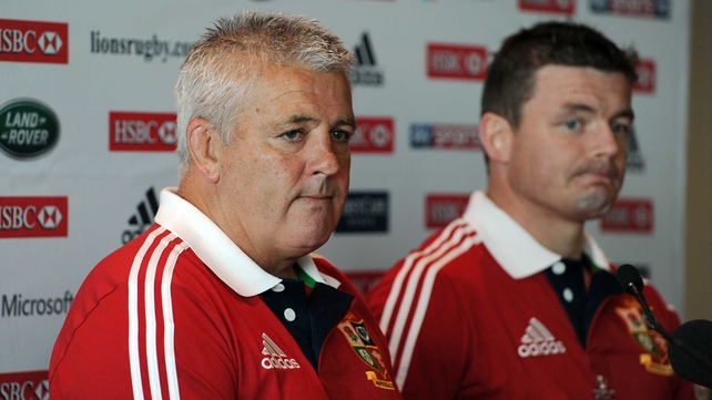 Warren Gatland said dropping Brian O'Driscoll was the toughest call of his career